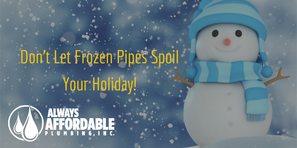 frozen pipe repair-Always Affordable Plumbing