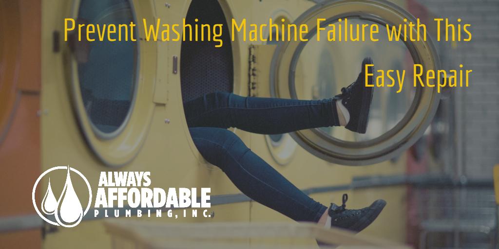 Washing Machine Repair-Always Affordable Plumbing-Emergency Plumber Sacramento