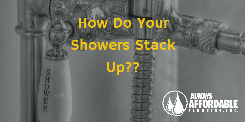 Sacramento Best plumber tips-showers around the world