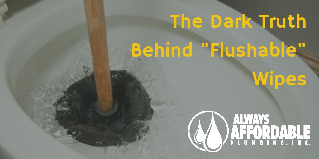 flushable wipes-affordable plumbing Sacramento