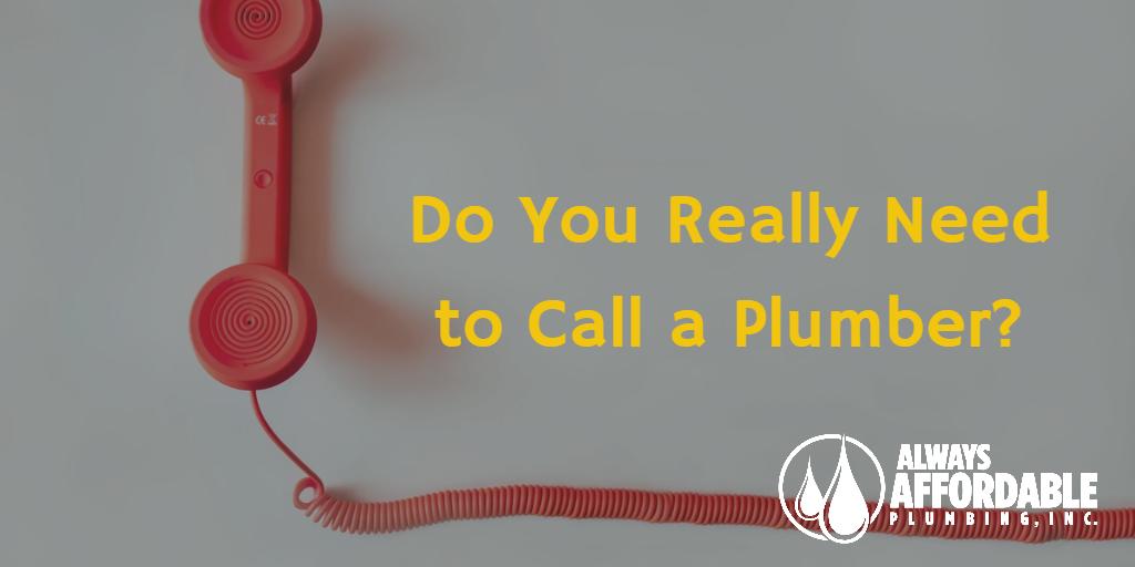 affordable plumbing sacramento-call a plumber