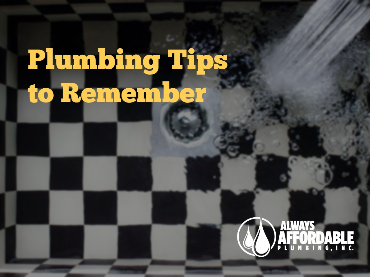 best plumber tips sacramento-always affordable plumbing sacramento