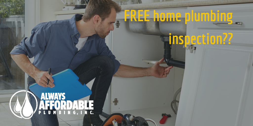 affordable plumbing sacramento-free home plumbing inspection