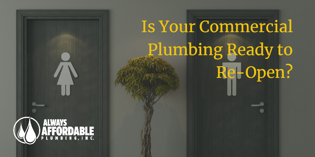 commercial plumbing problems-always affordable commercial plumbing