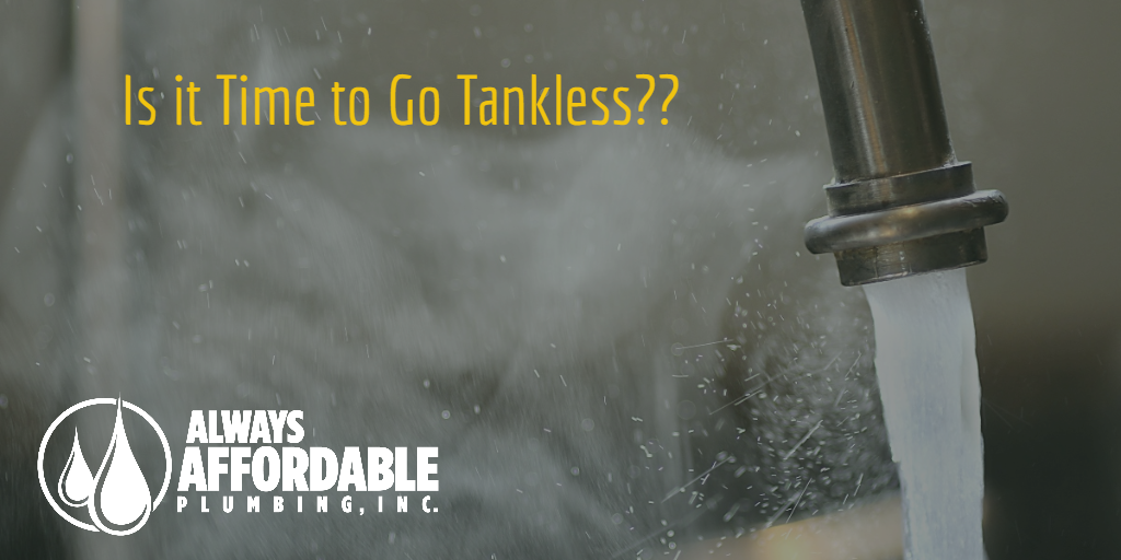 switch to a tankless water heater
