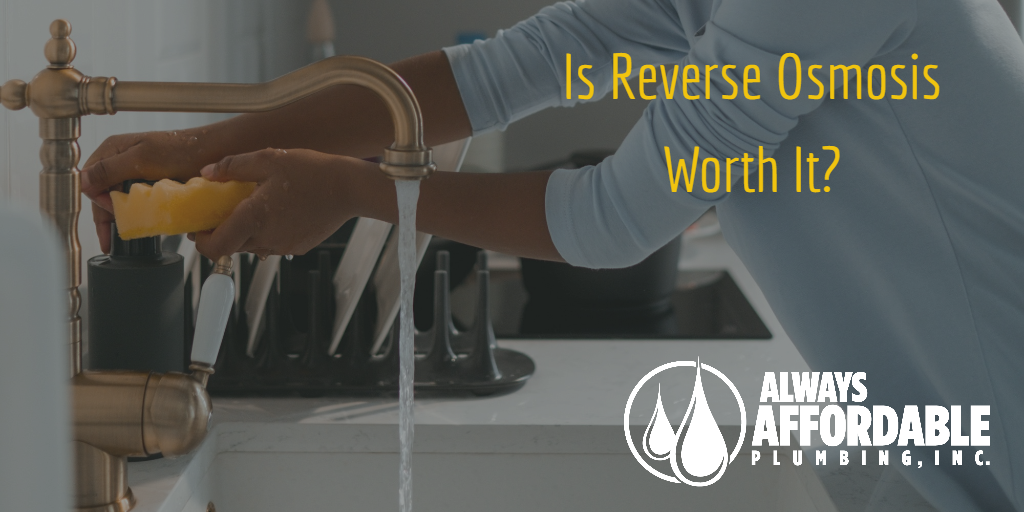 what is reverse osmosis-always affordable plumbing water filter